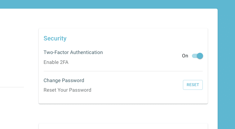 Ledgible Now Offers Two-Factor Authentication