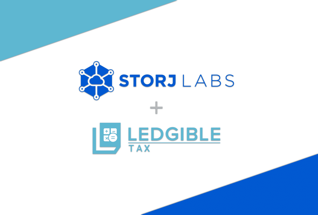 Ledgible Tax Selected By Storj