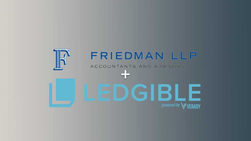 Friedman LLP Adds Verady's LEDGIBLE for Digital Asset Confirmations