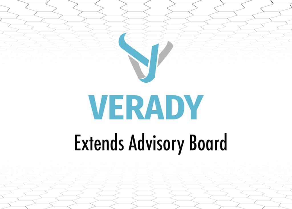 Verady Extends Advisory Blockchain Board