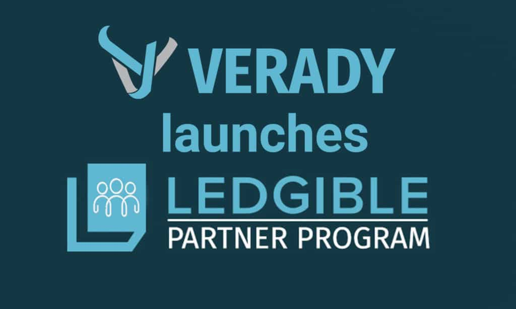 Verady Launches Ledgible Crypto Partner Program